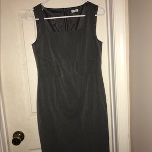 Halogen Gray Shift Dress Size 6P